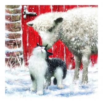 Farmyard Friends Christmas Cards - Pack of 10