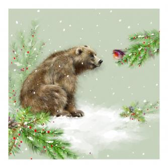Grizzly's Christmas Christmas Cards - Pack of 10