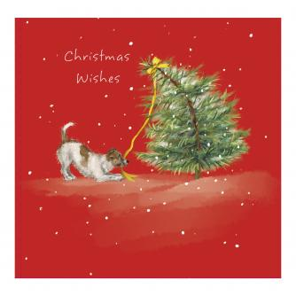 Troublesome Terrier Christmas Cards - Pack of 10