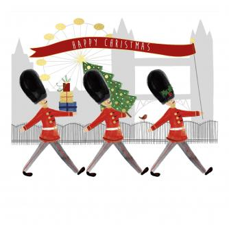 London At Christmas Christmas Cards - Pack of 10