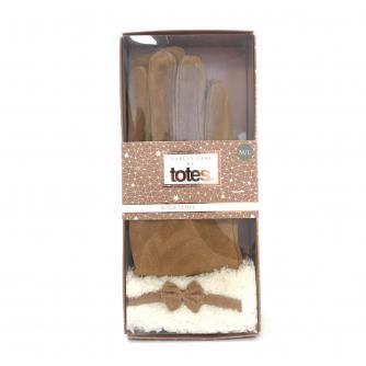 Totes Barley Lane Ladies Suede Gloves M/L