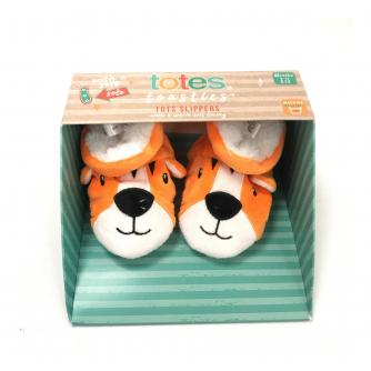 Totes Infants Padders Slippers - Tiger