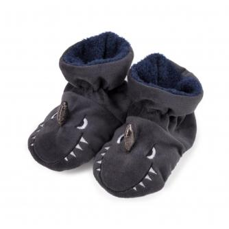 Totes Infants Padders Slippers - Shark