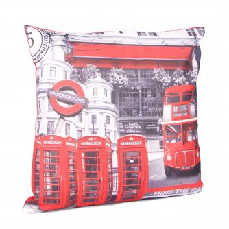 London Bus Cushion, Cancer Research UK
