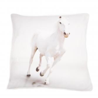 Quicksilver Horse Cushion, Cancer Research UK