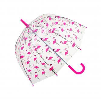 Flamingo Dome Umbrella, Umbrella, Home & Accessories, Cancer Research UK