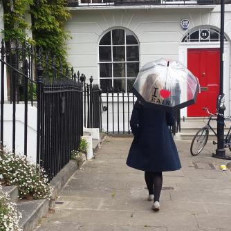 I Love Rain Dome Umbrella, Home & Accessories, Cancer Research UK