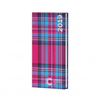 Pink Tartan Pocket Diary