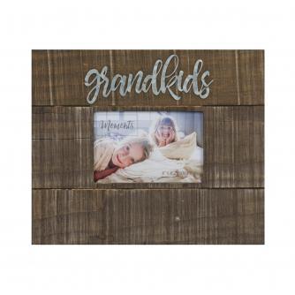 Grandkids Moments 6x4 Wood Finish Photo Frame