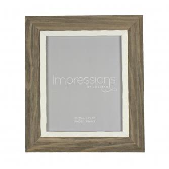 Impressions Driftwood Style Photo Frame