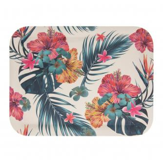 Tropical Eco-Friendly Bamboo Tray - Medium