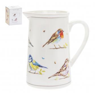 Country Life Birds Milk Jug