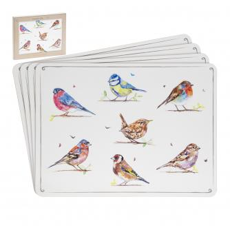 Country Life Birds Placemats - Set of 4