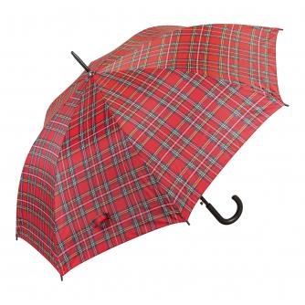 Classic Tartan Print Walking Umbrella