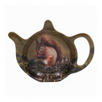 Red Squirrel Wildlife Teabag Tidy