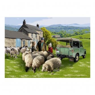 Tom's Sheep Farm Jigsaw Puzzle