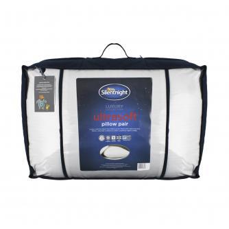 Silentnight Luxury Ultrasoft Pillow Pair