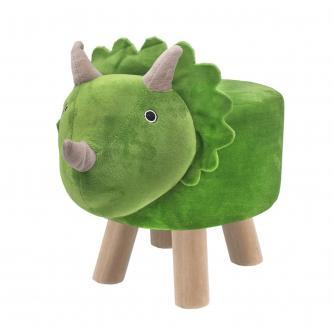 Children's Triceratops Dinosaur Stool
