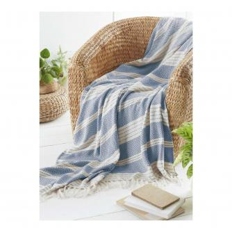 Green Living Collective Recycled PET Diamond Throw