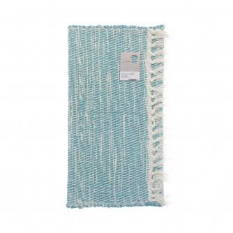 Green Living Collective Recycled Twill Rug - 50 x 80cm - Navy