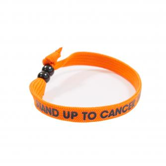 Stand Up To Cancer Wristband With Beaded Clasp
