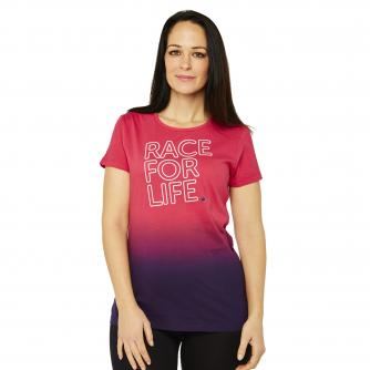Race For Life  2017 Full Stop T-Shirt Cancer Research UK
