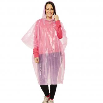 Race For Life  2017 Hot Pink Poncho Cancer Research UK