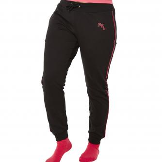 Cancer Research UK Race For Life Black Jogging Bottoms