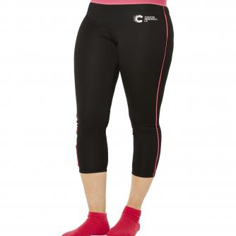 Cancer Research UK Race For Life Black Sports Leggings