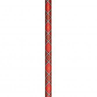 4m Tartan Rolled Gift Wrap