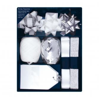 Silver & White Wrap Accessory Pack