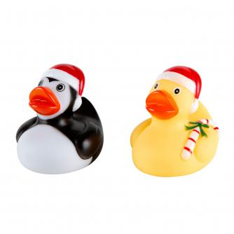 Festive Rubber Duck Duo