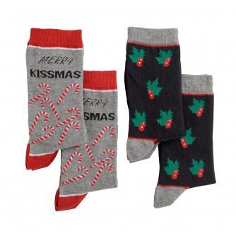 Womens Novelty Christmas Socks - Pack of 4