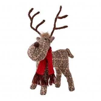 Small Standing Patterned Reindeer