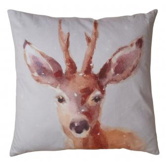 Large Reindeer Cushion