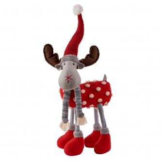 Small Standing Red Reindeer