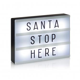 Festive Letter Light Box
