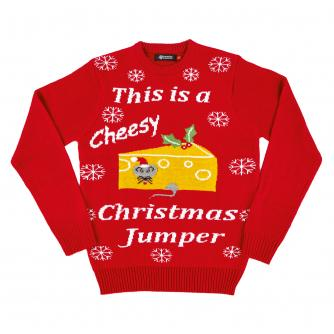 Cheesy Christmas Jumper