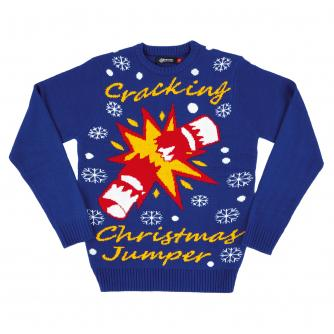Cracking Unisex Christmas Jumper