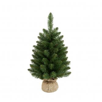 60cm Green Burlap Christmas Tree