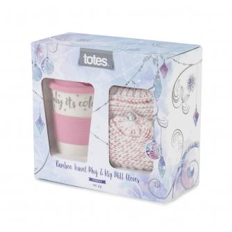Totes Ladies Travel Mug & Glove Set