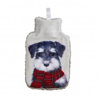 Winter Dog Hot Water Bottle