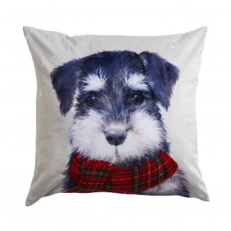 Winter Dog Cushion