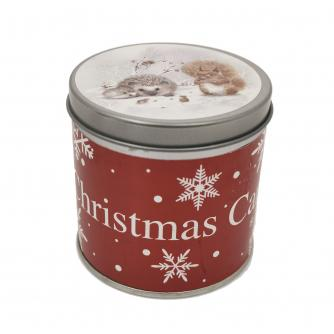 Winter Woodland Large Tin Candle