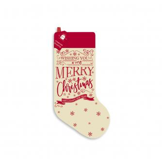 Calico Christmas Stocking