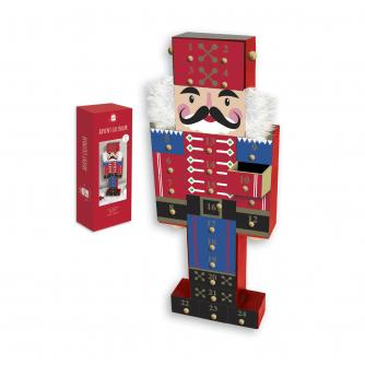 Nutcracker Wooden Reusable Advent Calendar