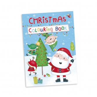 An ideal stocking filler, keep the kids entertained with this Christmas colouring book.  Features: A4 size