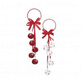 Jingle Bells Door Hanger Decoration
