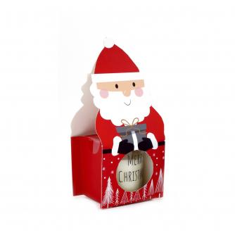 Santa Apple & Cinnamon Scented Candle Pot