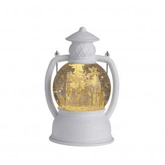 Glitter Snow Globe Lantern - Carol Singers